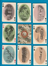 Antique Collectible playing cards. Florida souvenir  c`1900